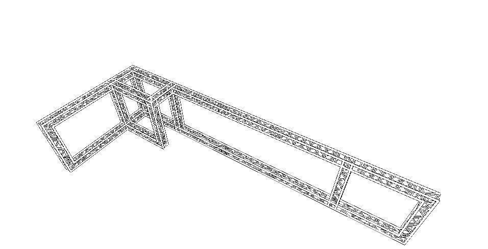 Billede af Messestand 13 x 4 x 2,5 mtr. (DT 34)