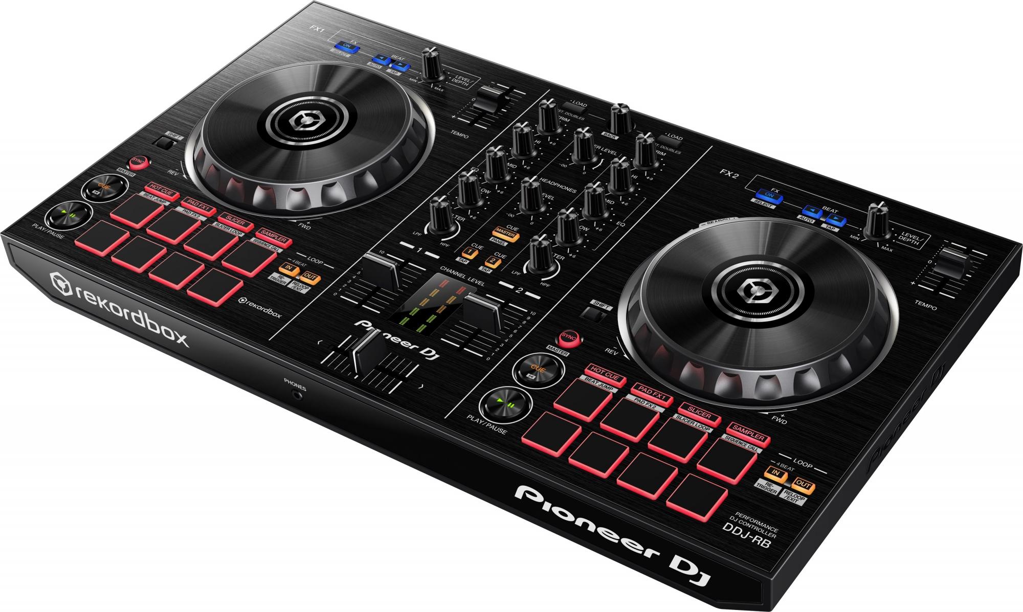 Billede af Pioneer DDJ-RB DJ controller til Rekordbox