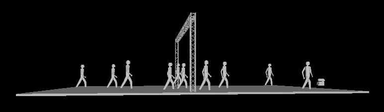 Billede af Messestand 0,29 x 10 x 4 mtr. (DT 34)