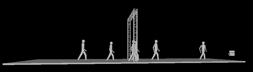 Billede af Messestand 0,29 x 4 x 4 mtr. (DT 34)