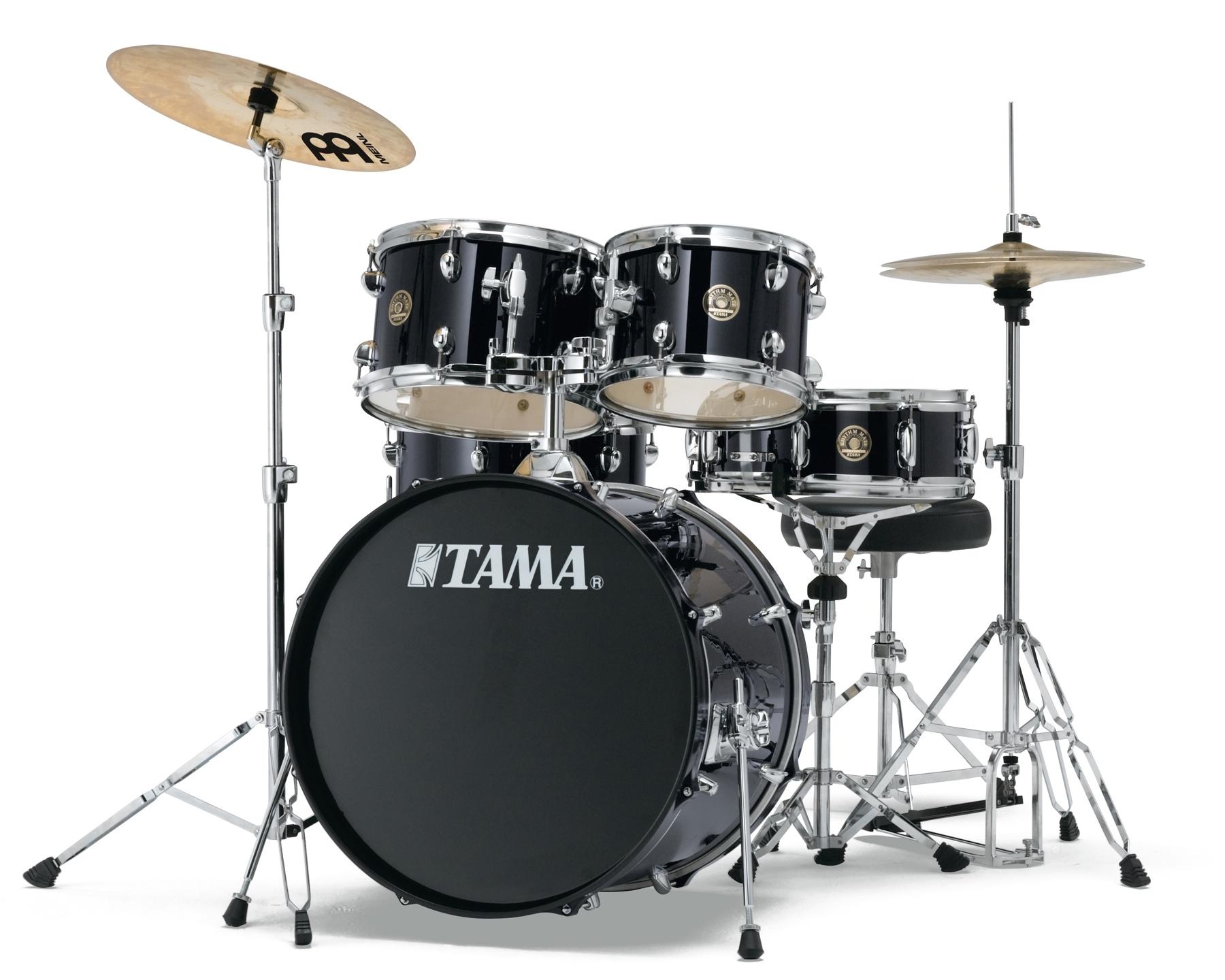 Billede af Tama Rhythm Mate Standard Trommesæt Sort