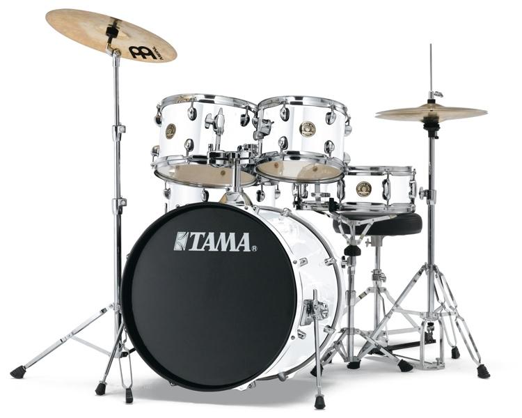 Billede af Tama Rhythm Mate Studio Trommesæt Hvid