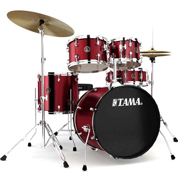 Billede af Tama Rhythm Mate Standard Trommesæt Wine Red