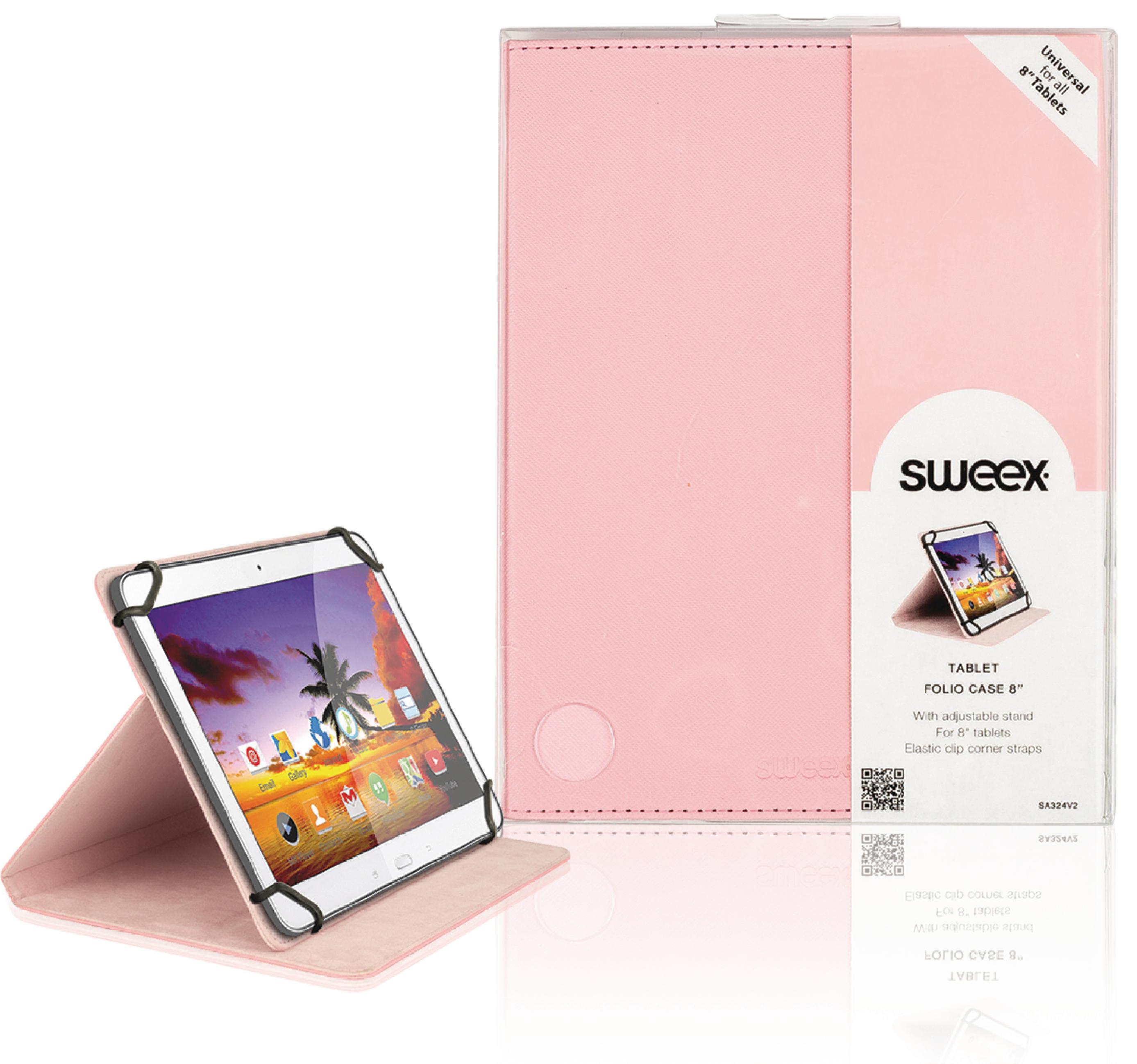 """Billede af Tablet Folie 8"""" / Universel Pink"""