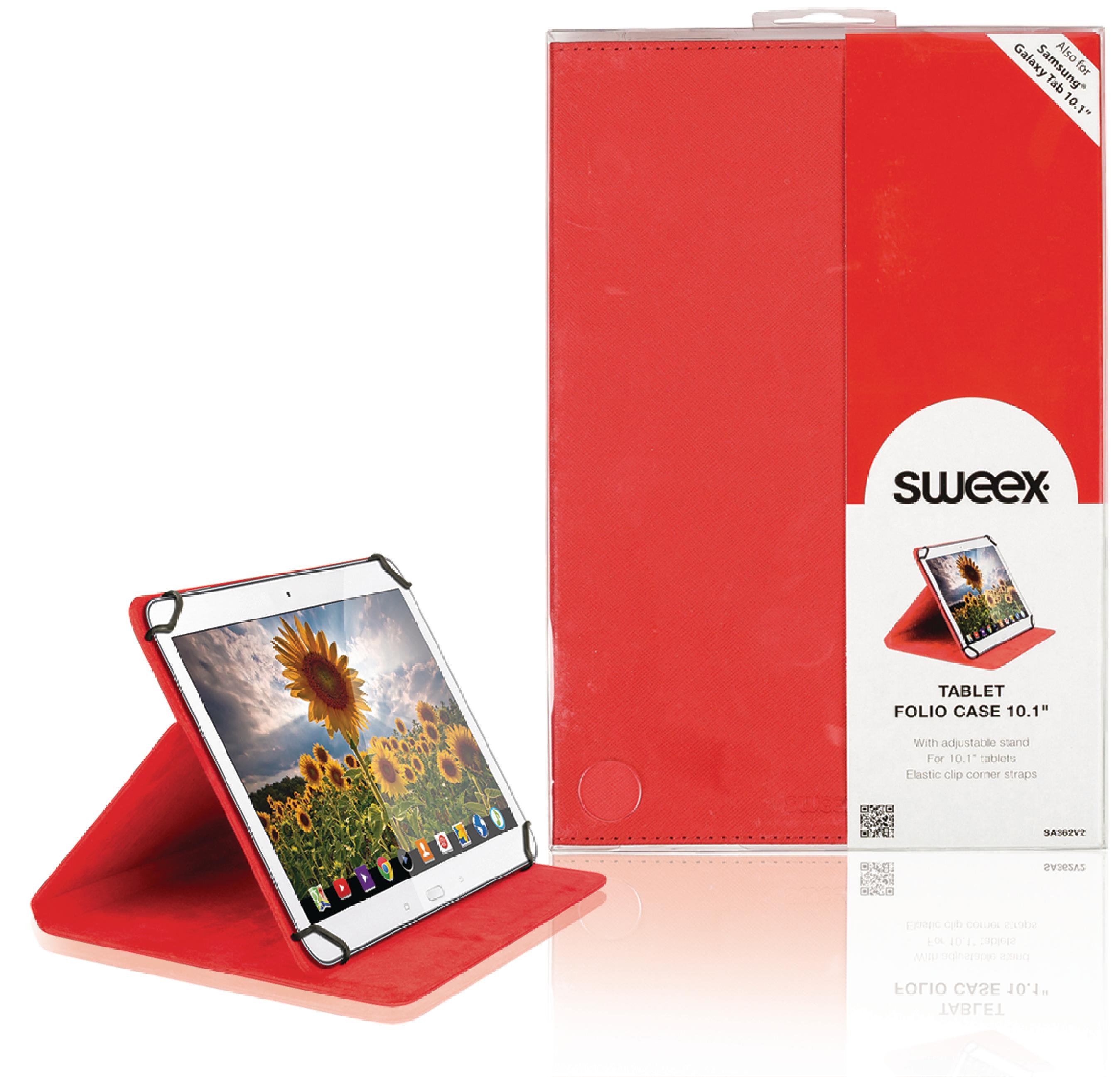 """Billede af Tablet Folie 10"""" Universelt Rød"""