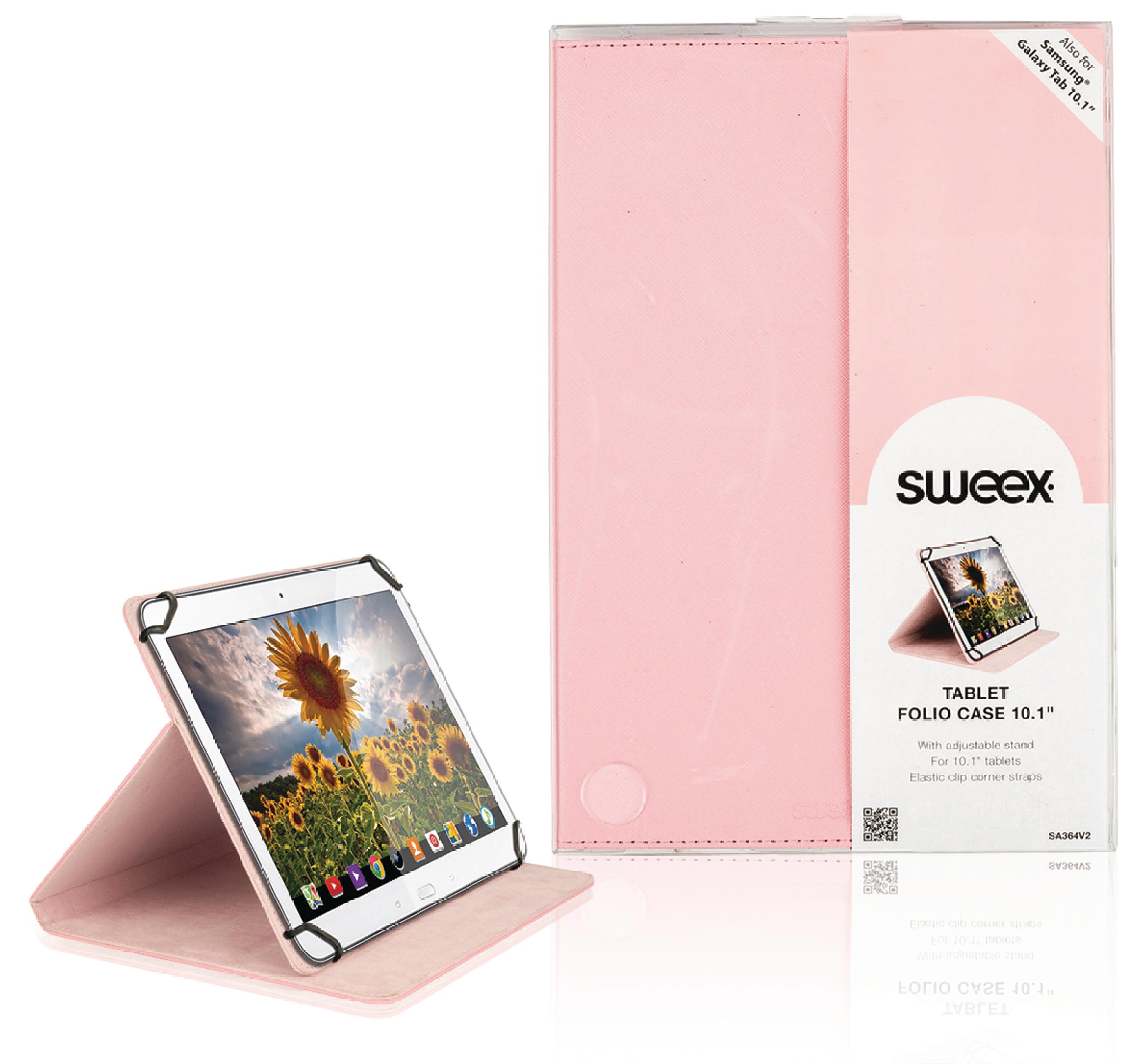 """Billede af Tablet Folie 10"""" Universelt Pink"""