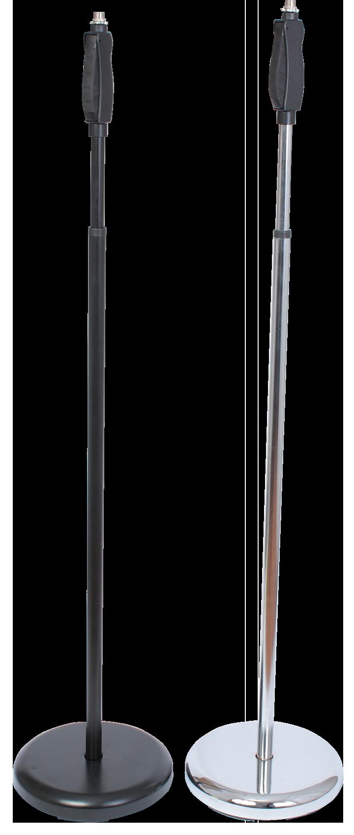Billede af Ibiza mikrofon stativ, 104 - 156 cm Chrome