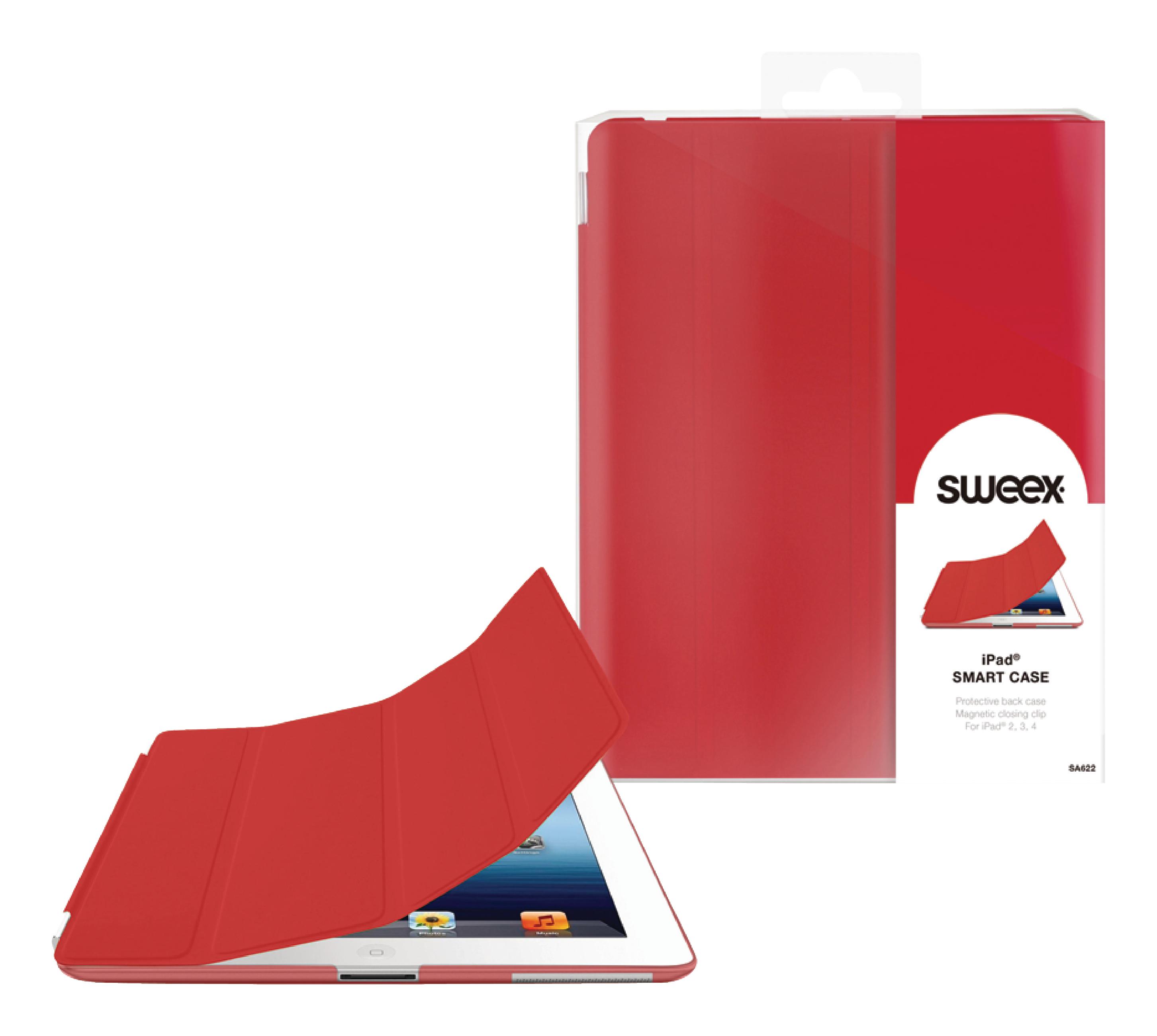 Billede af Tablet Folie Apple iPad 4 Rød