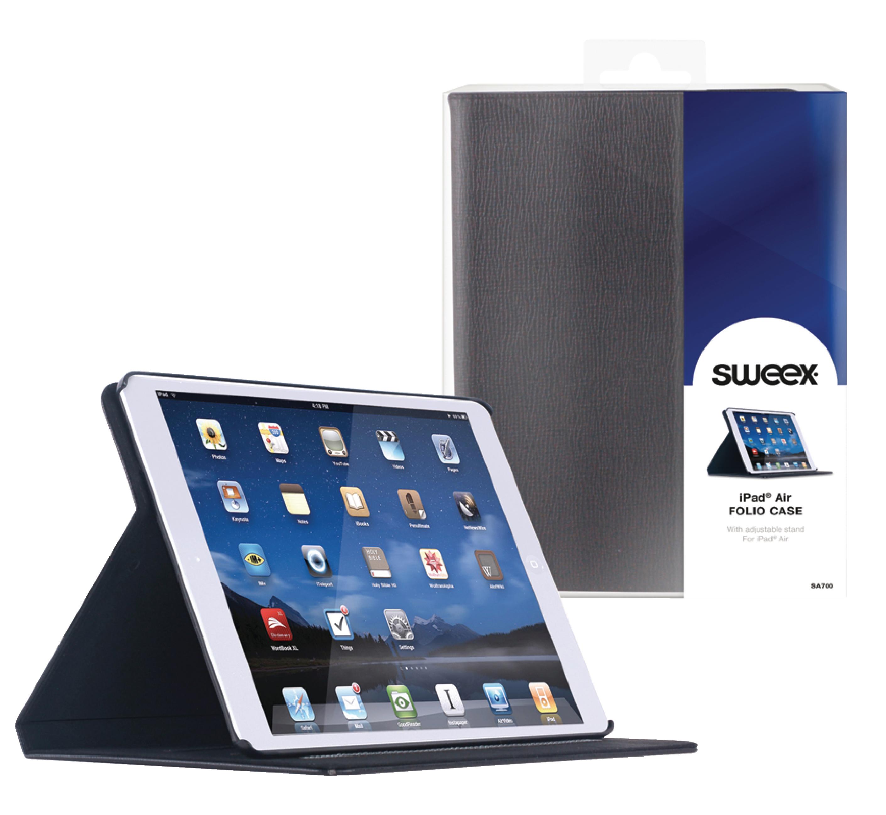 Billede af Tablet Folie Apple iPad Air Sort