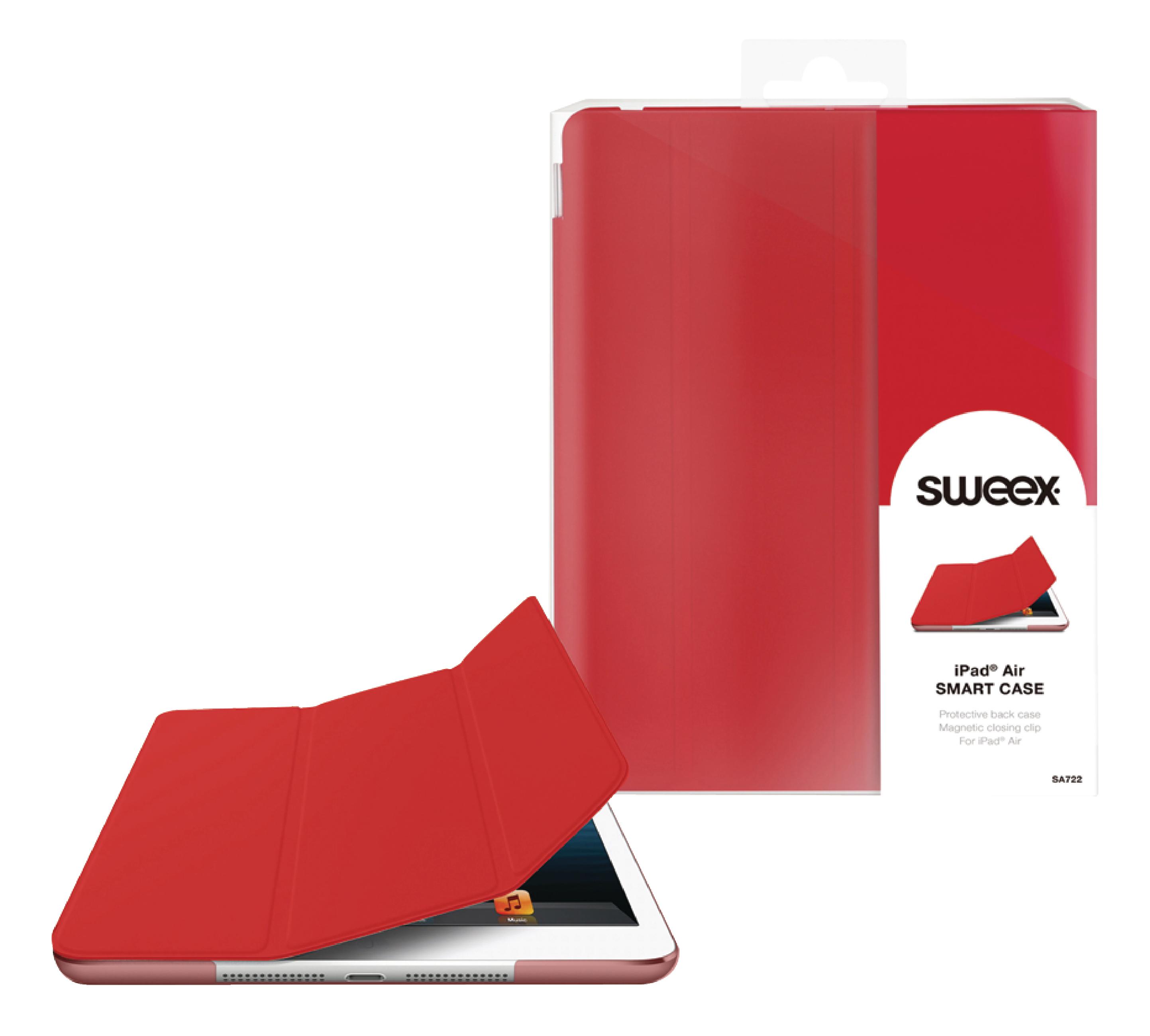 Billede af Tablet Folie Apple iPad Air Rød