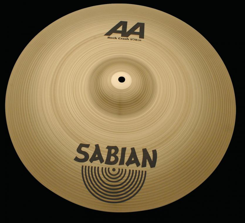"""Billede af Sabian 20"""" å Rock Crash"""