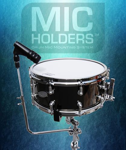 Billede af Mic Holders lilletromme mikrofon holder
