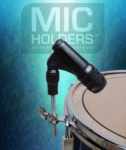 Billede af Mic Holders tomtom/lilletromme mikrofon holder