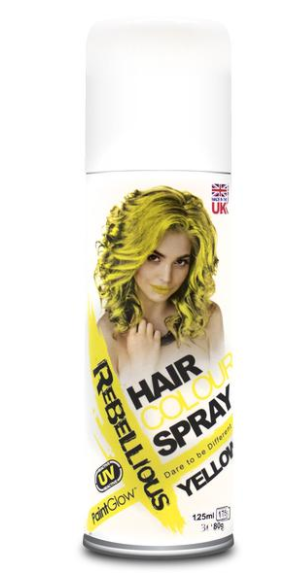 Billede af UV hårfarve-spray Blå
