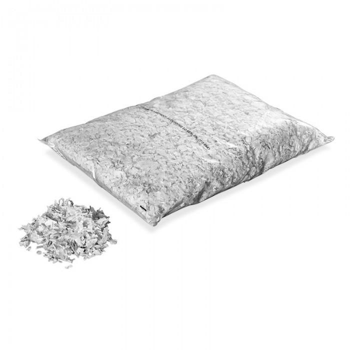 Billede af Papir konfetti - Snefnug 3 kg. Hvid