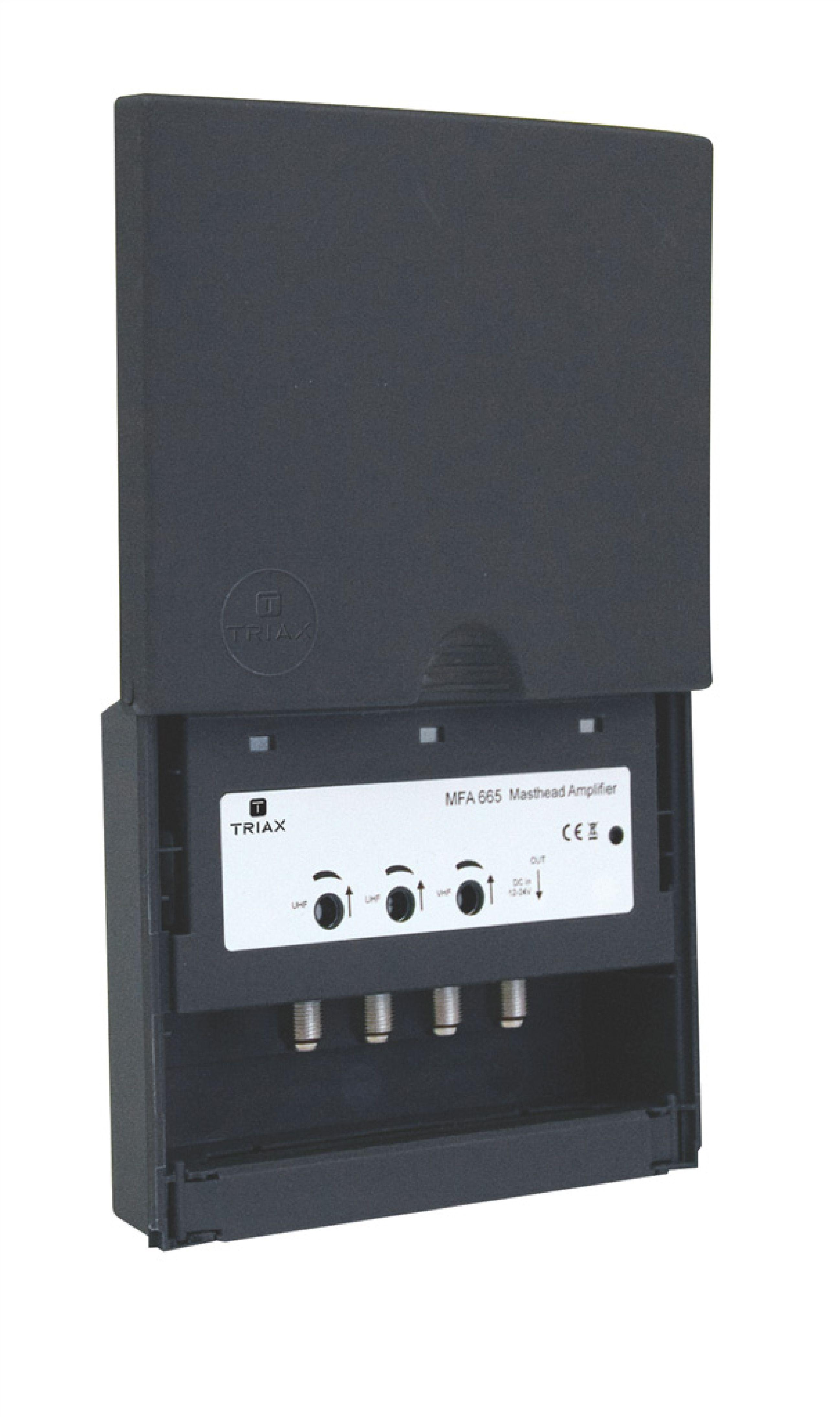 Billede af VHF/UHF Mastforstærker 29 dB 470-790 MHz