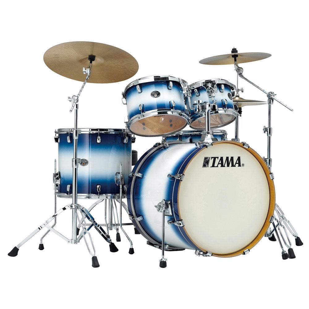 Billede af Tama Silverstar Standard Trommesæt Jet Blue Burst
