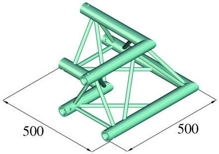 Image of   Alutruss TRILOCK 6082AC-21 2-way corner 90°