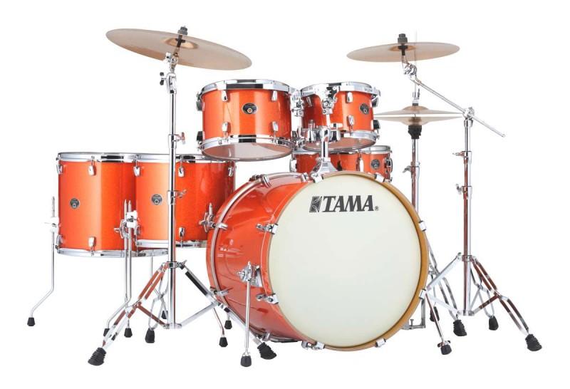 Billede af Tama Silverstar Standard Trommesæt Bright Orange Sparkle