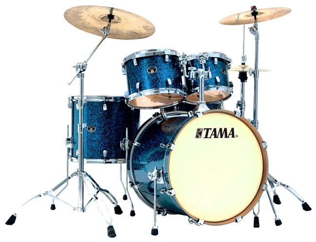 Billede af Tama Silverstar Standard Trommesæt Indigo sparkle