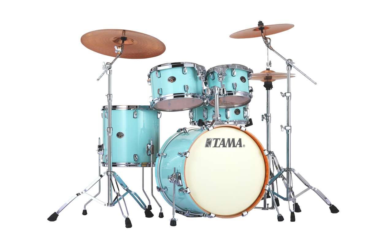 Billede af Tama Silverstar Standard Trommesæt Light Blue Laquer