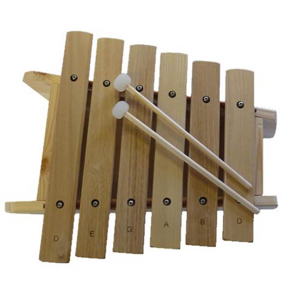 Billede af Trommus Marimba D, 6 toner