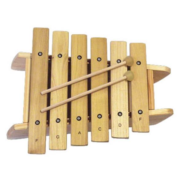 Billede af Trommus Marimba F, 6 toner