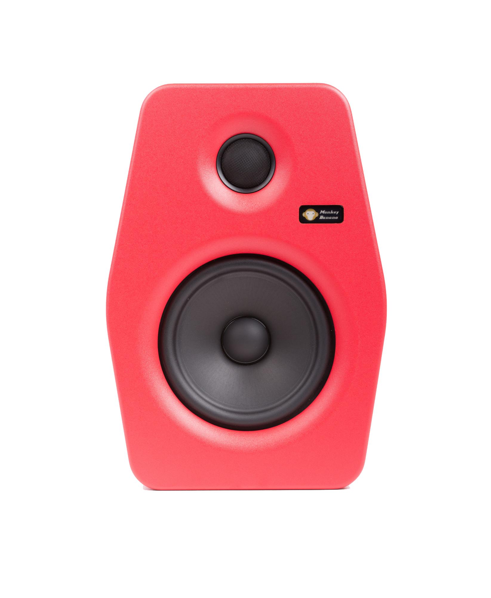 Billede af Monkey Banana Turbo 6 studie højttaler, rød