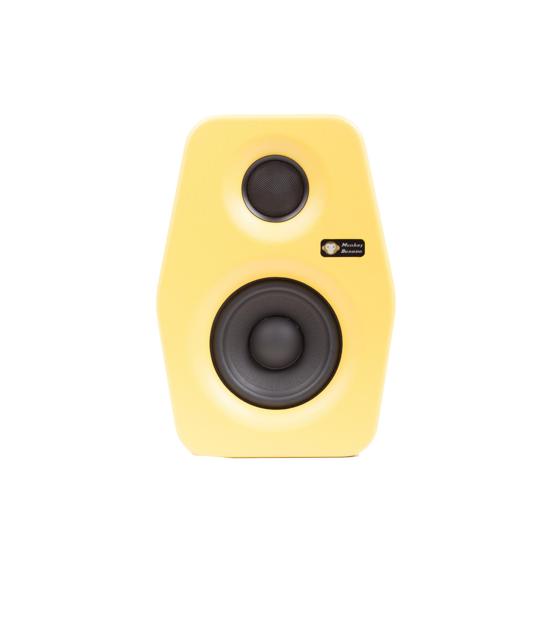 Billede af Monkey Banana Turbo 4 studie højttaler, gul