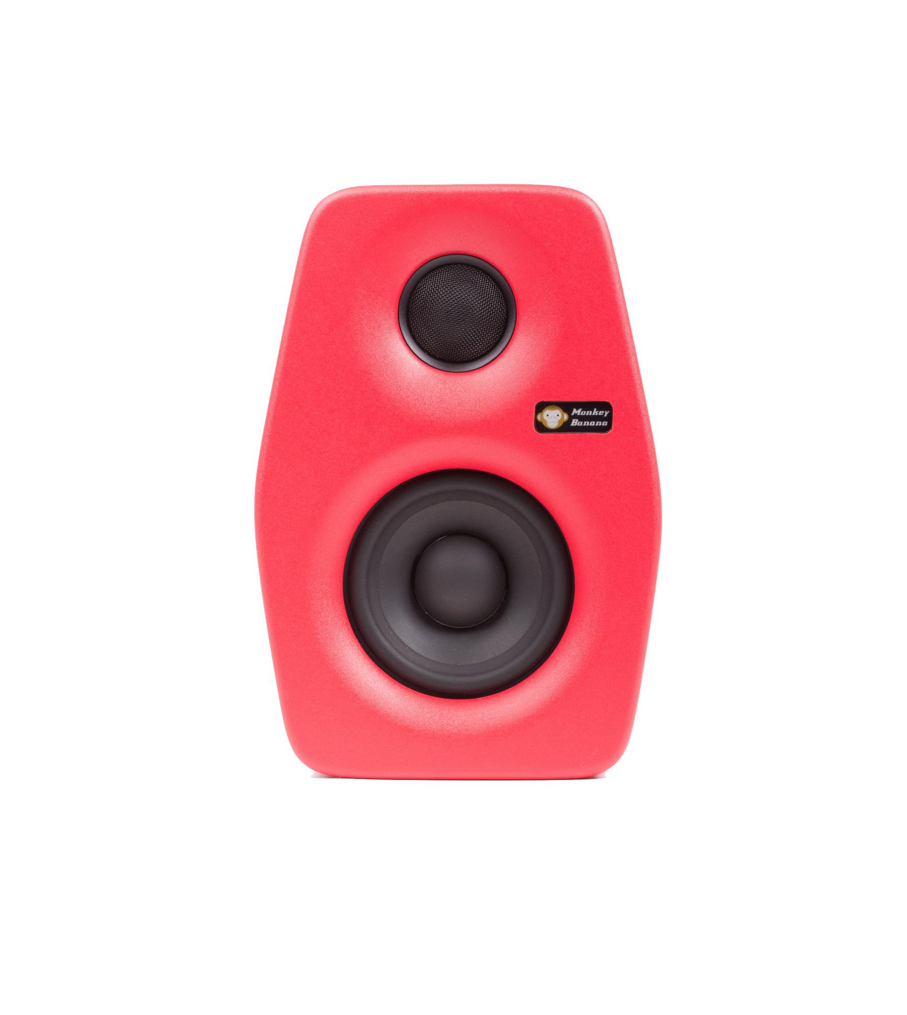 Billede af Monkey Banana Turbo 4 studie højttaler, rød