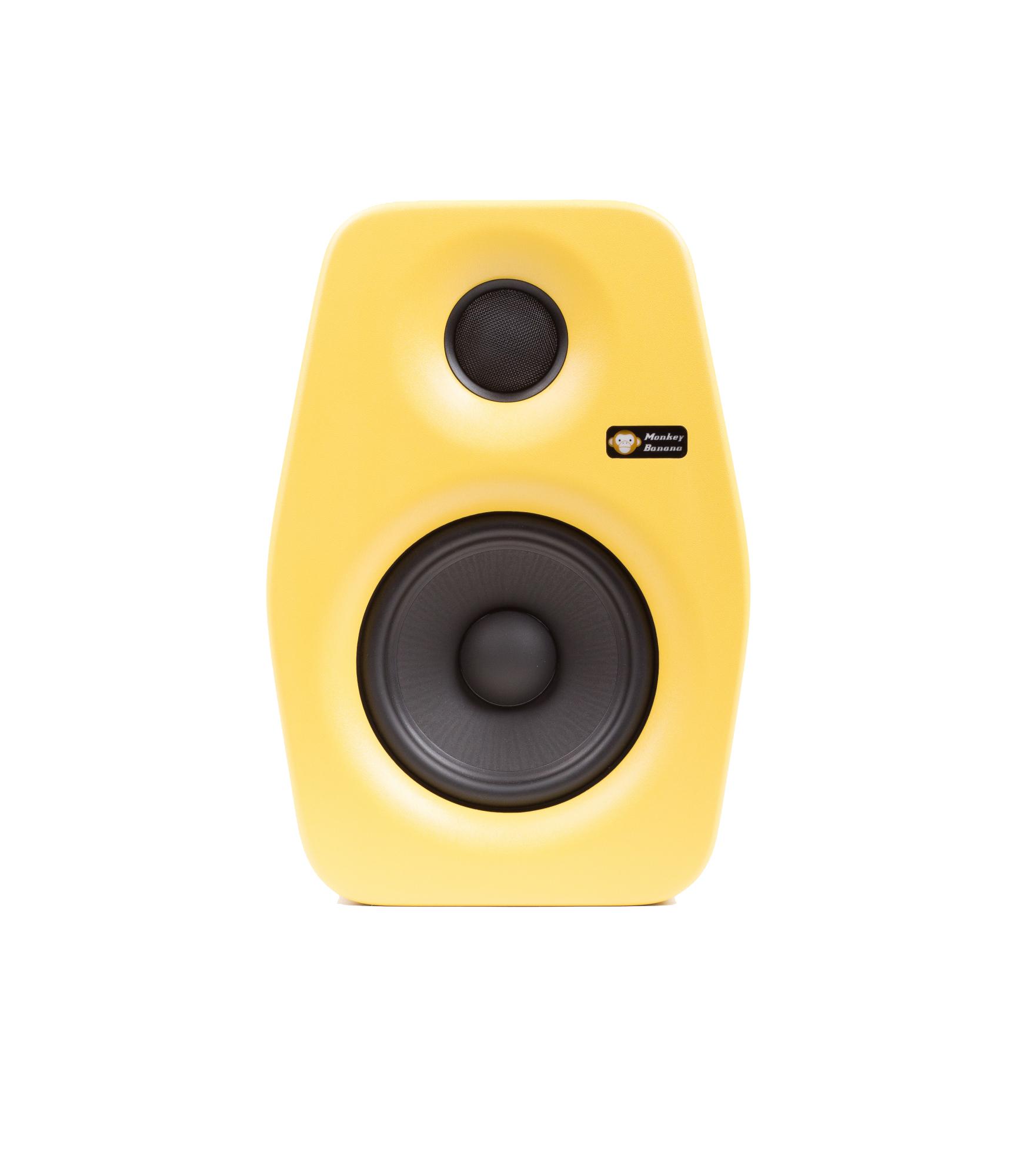Billede af Monkey Banana Turbo 5 studie højttaler, gul