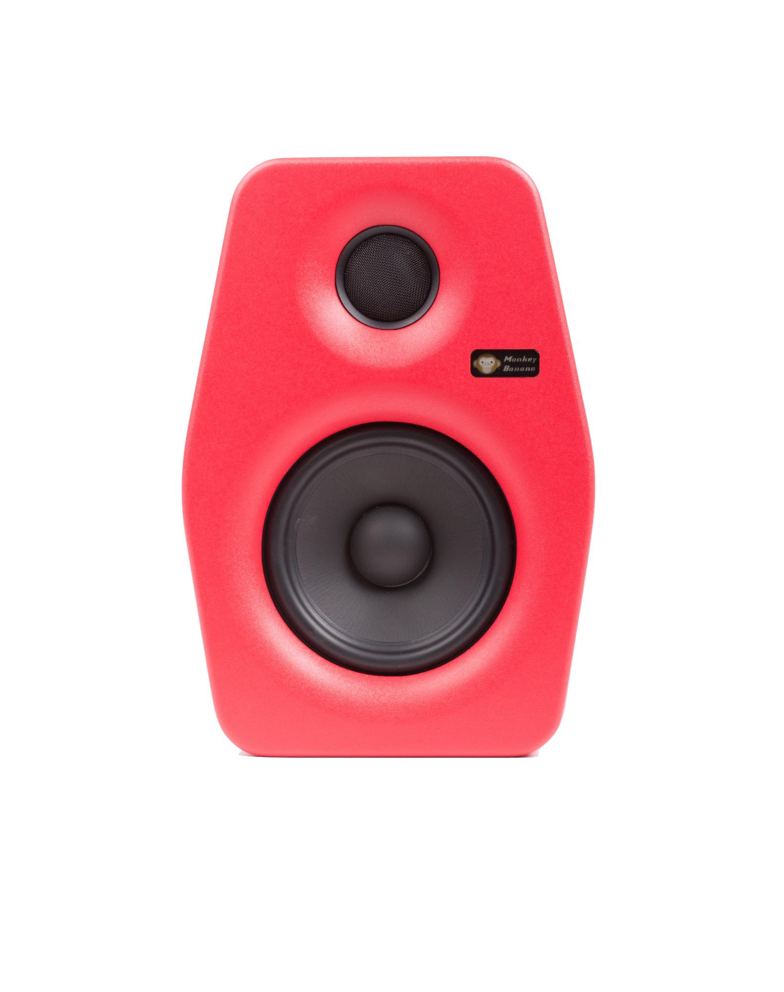 Billede af Monkey Banana Turbo 5 studie monitor, rød