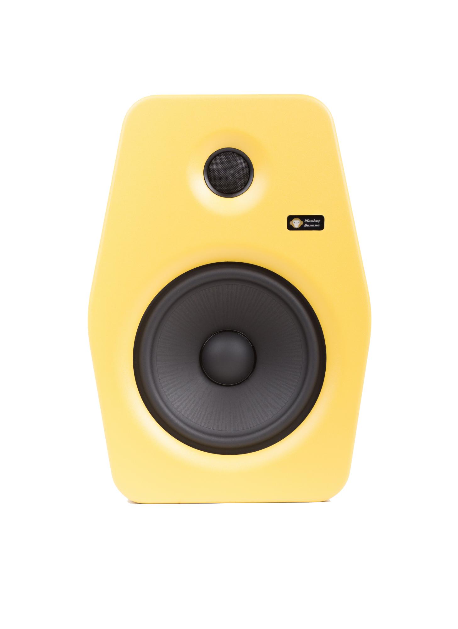 Billede af Monkey Banana Turbo 8 studie højttaler, gul