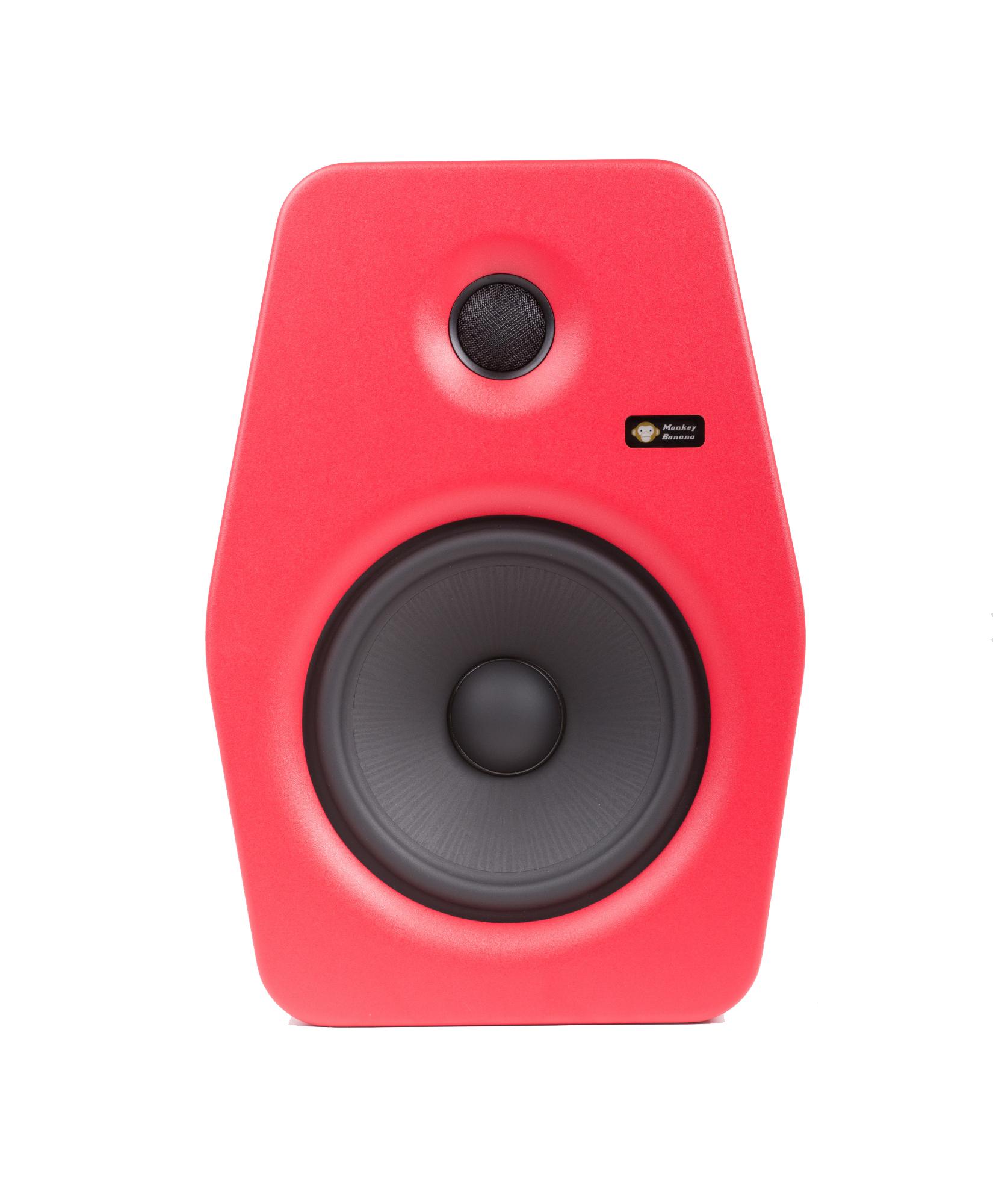 Billede af Monkey Banana Turbo 8 studie højttaler, rød
