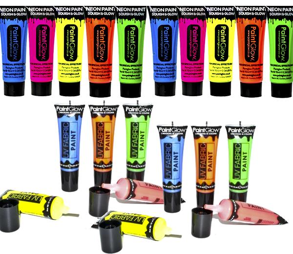Billede af UV maling til 10 personer