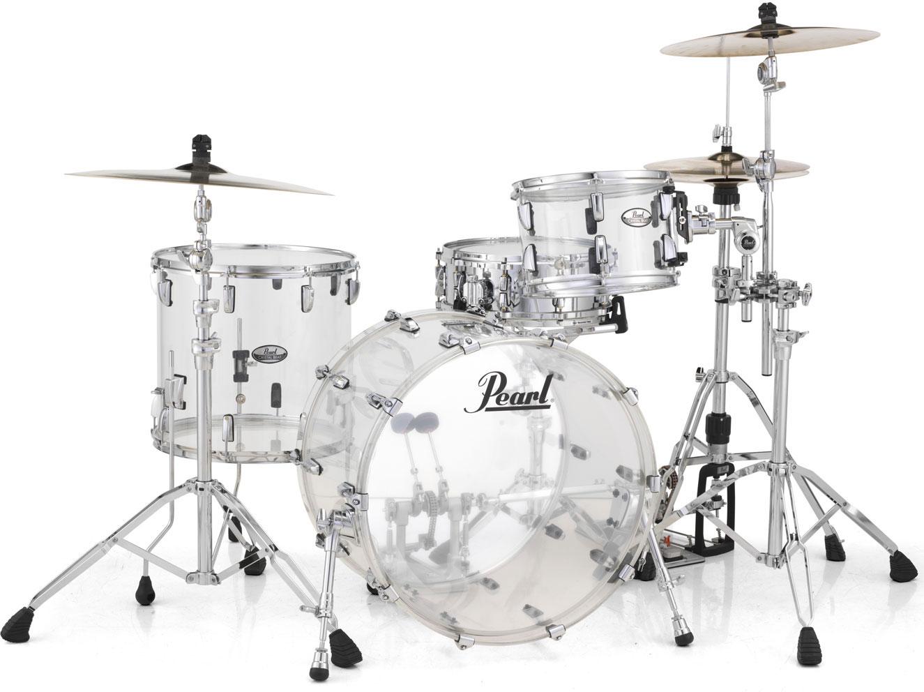Billede af Pearl Crystal Beat Rock Trommesæt Ultra Clear