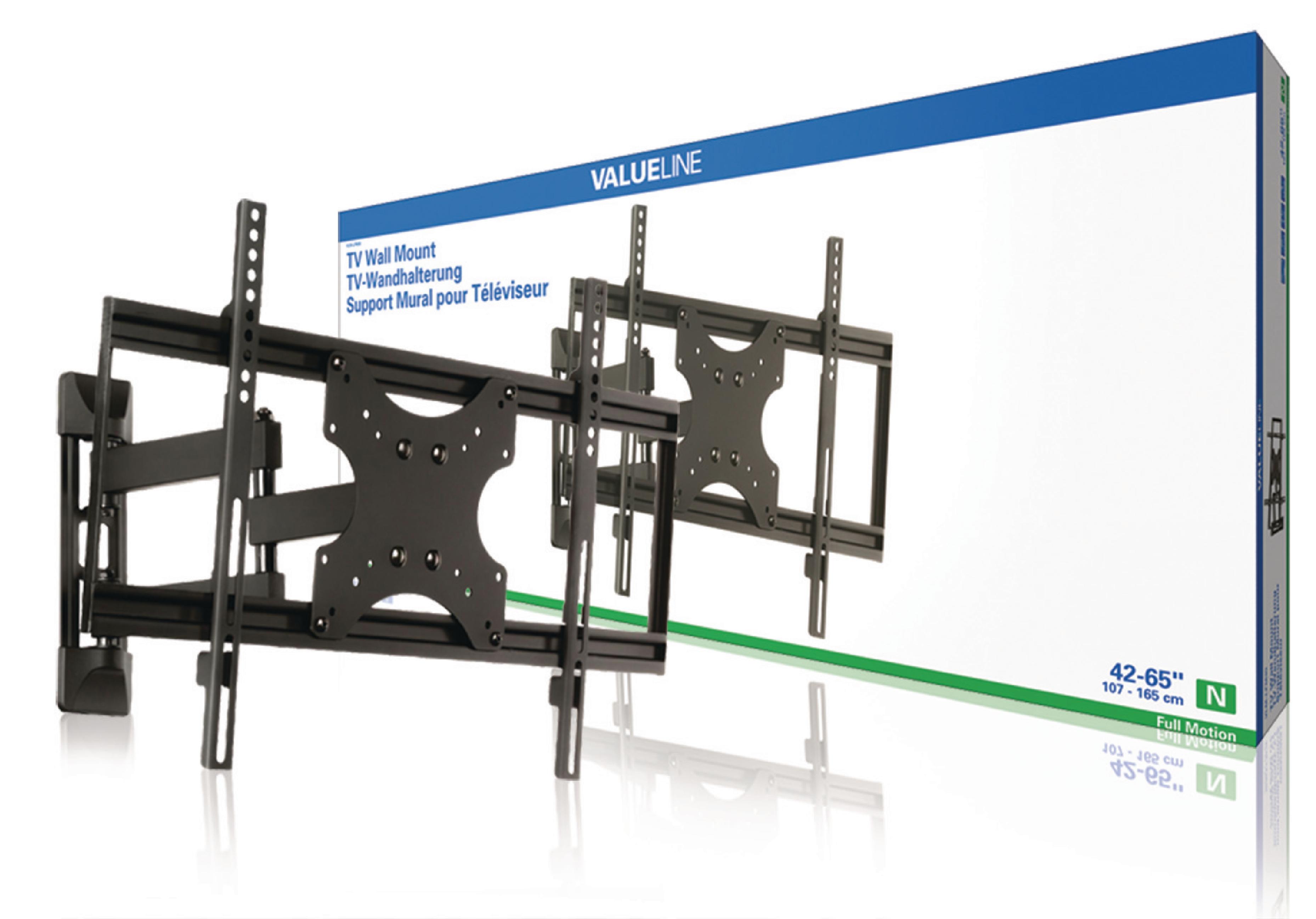 """Image of   Tv Vægbeslag Fuldt Bevægeligt 42 - 65 """" 50 kg"""