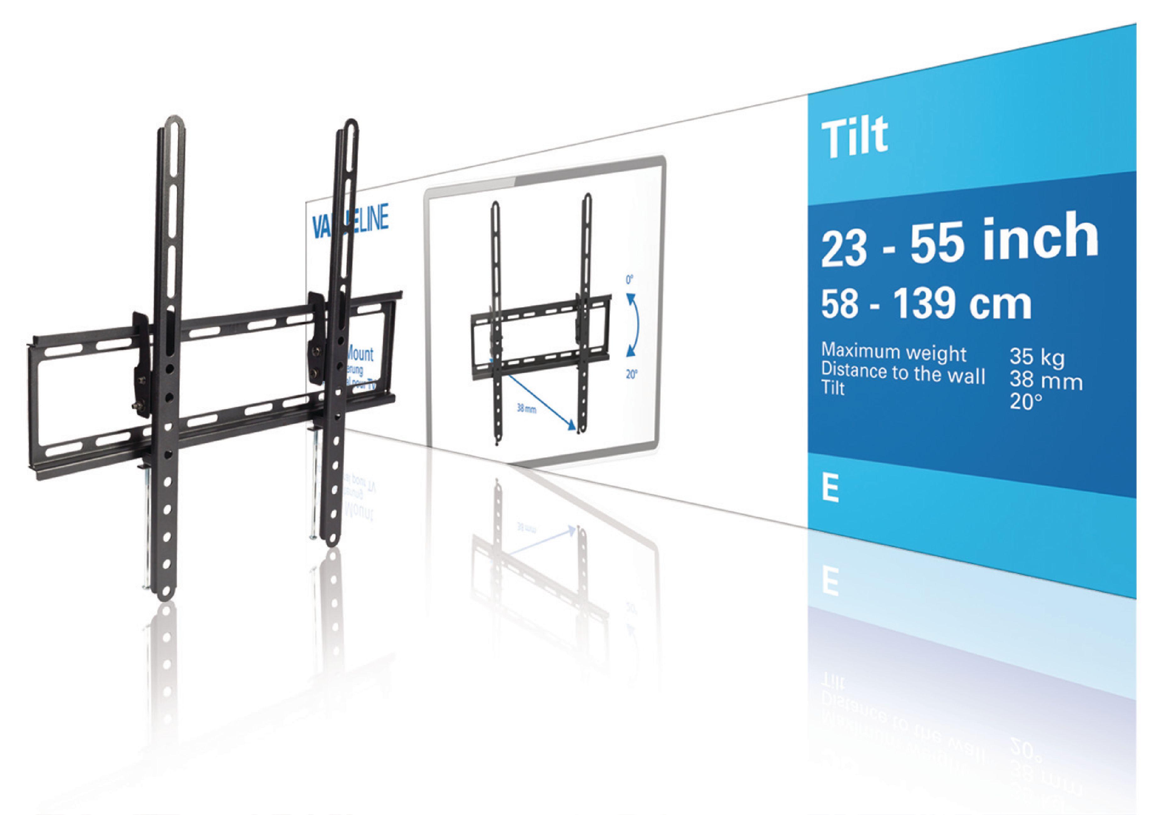 """Billede af Tv Vægbeslag Vipbar 23 - 55 """" 35 kg"""
