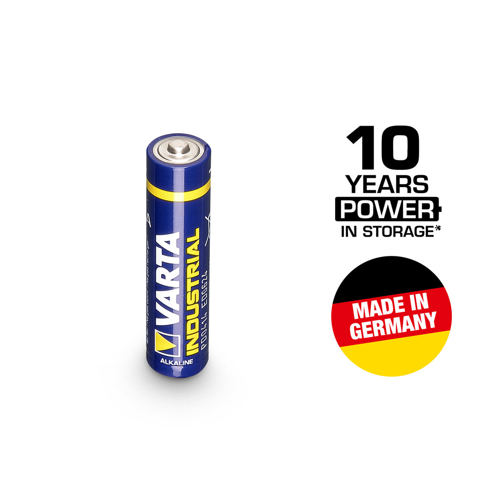 Billede af Varta Industrial 1.5 V batteri mikro AAA