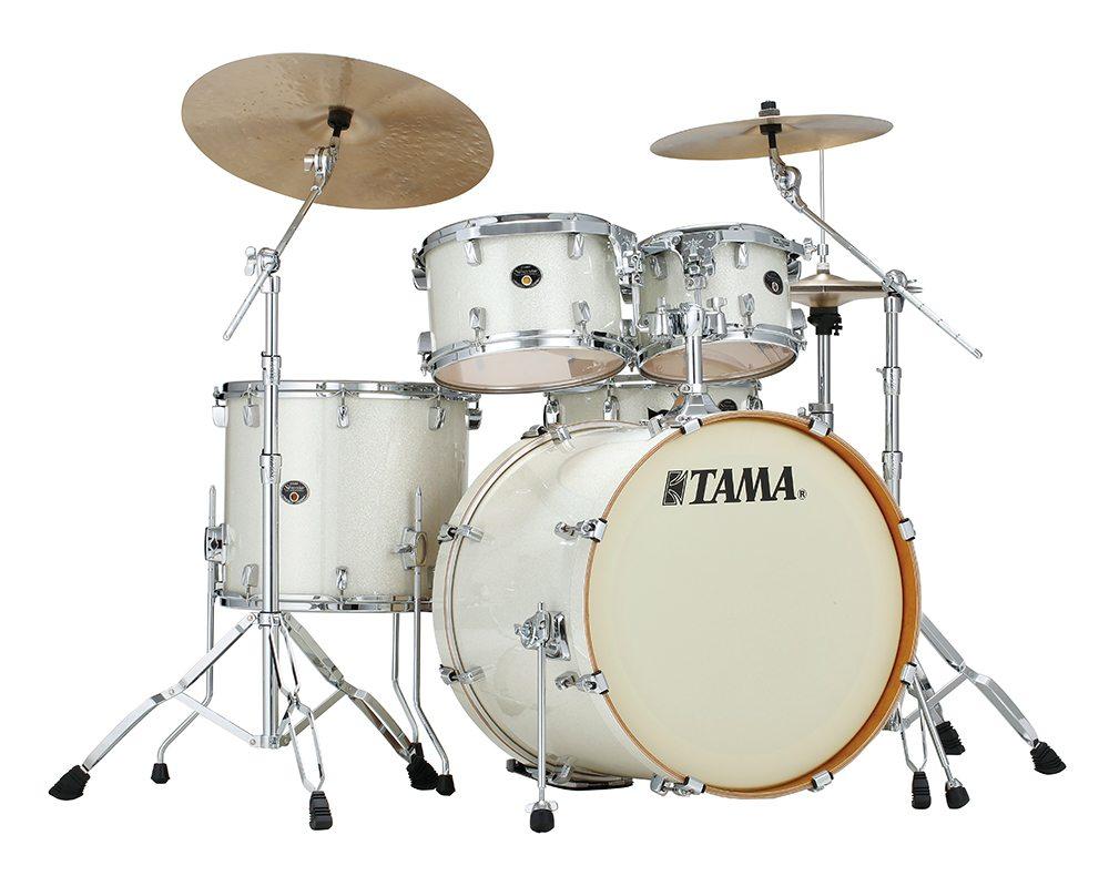 Billede af Tama Silverstar Standard Trommesæt Vintage White Sparkle