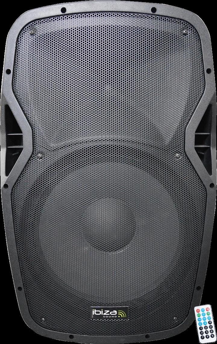 """Billede af Ibiza Sound Aktiv Højttaler WiFi/Bluetooth 12"""""""