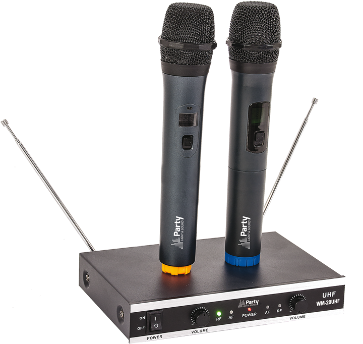 Image of   WIRELESS UHF MICROPHONE SYSTEM