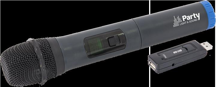 Billede af WIRELESS UHF MICROPHONE SYSTEM VIA USB