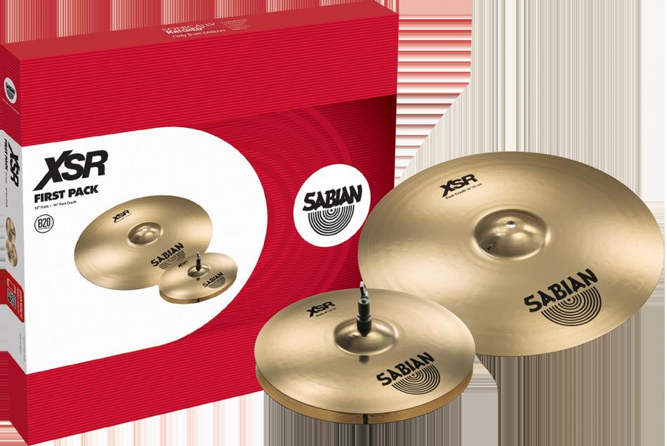 Billede af Sabian XSR First Pack Bækkenpakke