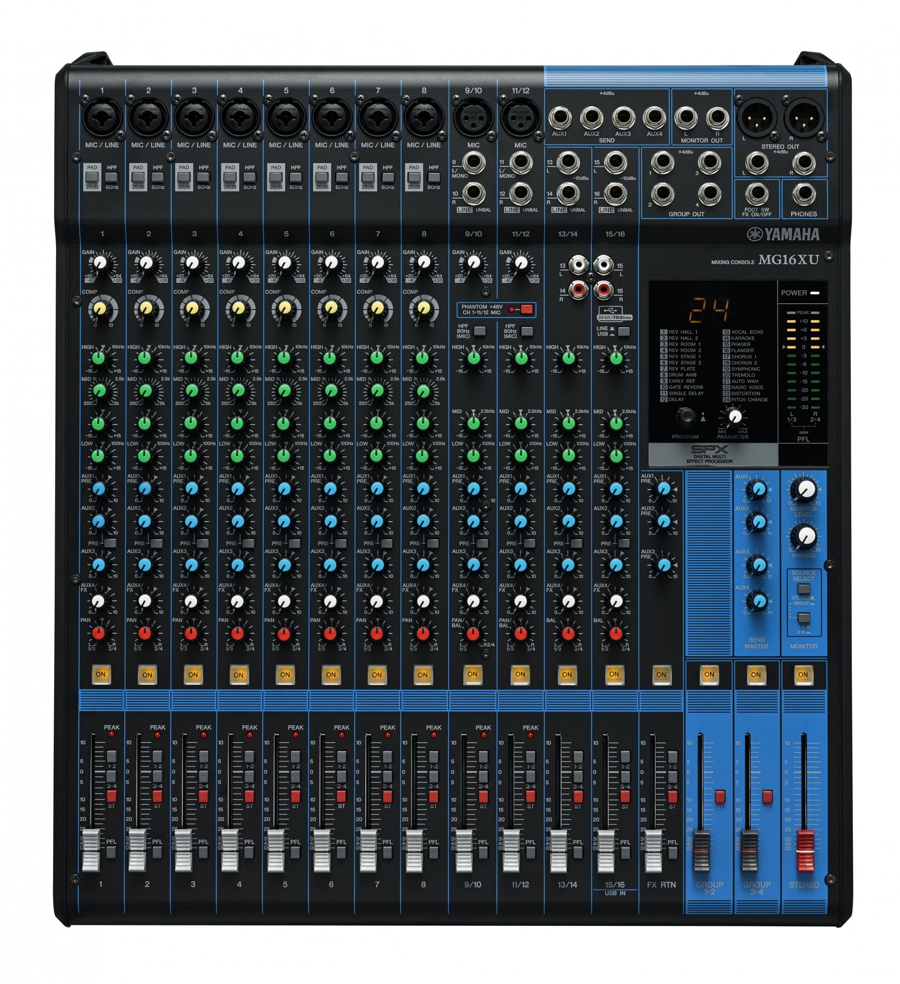 Billede af Yamaha MG16XU mixer