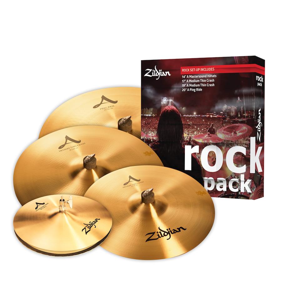 Billede af Zildjian A0801R Rock bækkenpakke
