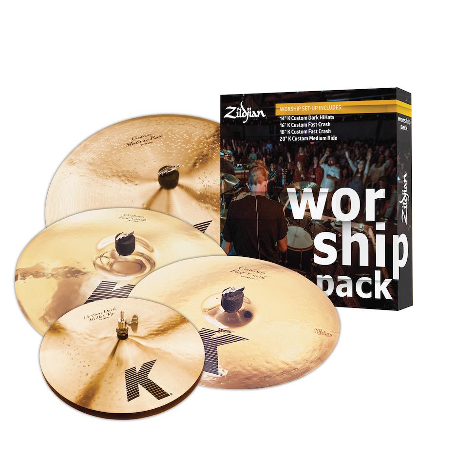 Billede af Zildjian KC0801W Worship bækkenpakke