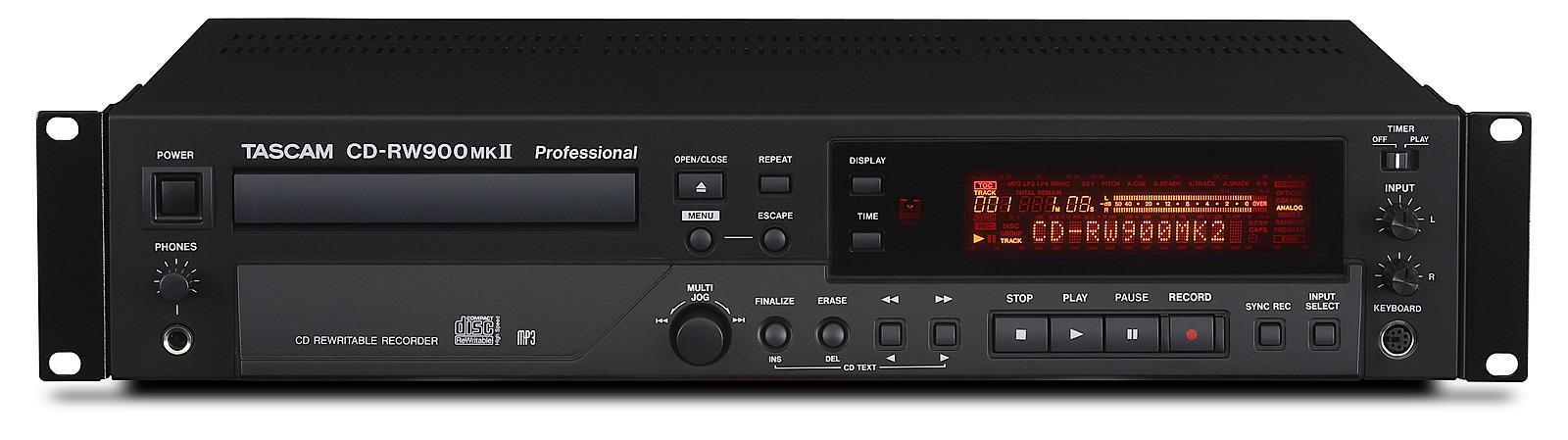 Billede af Tascam CD-RW900MK2 CD recorder