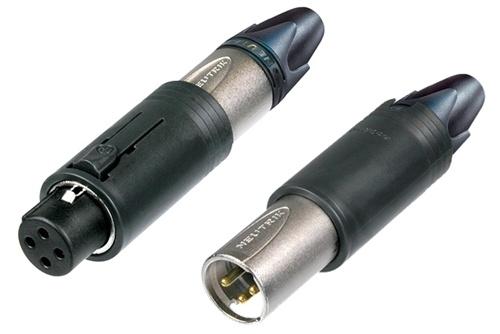 Billede af Neutrik Kabel Stik convertCON XLR Unisex Sølv