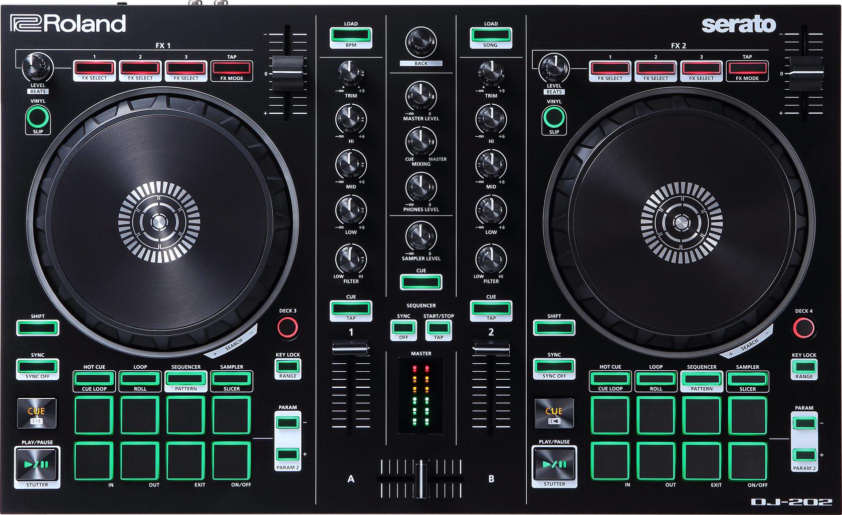 Billede af Roland DJ-202 DJ controller